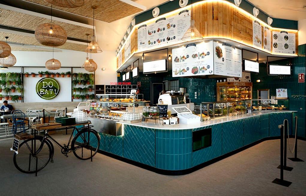 Restaurante DO EAT! en el nuevo edificio oxxeo