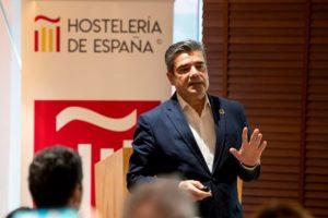 Emilio Gallego, secretario general de HOSTELERÍA DE ESPAÑA.